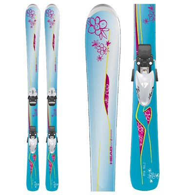Head MYA No.1 Skis + SL 75 Bindings - Youth 2012