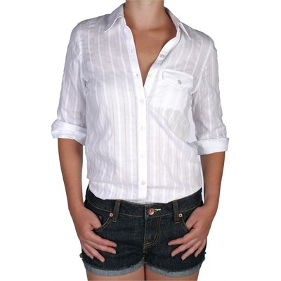 Volcom Sweet Nothings Button Down Shirt - Women's