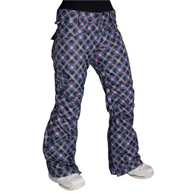 Betty Rides Lucky Plaid Rocker Pants - Women's
