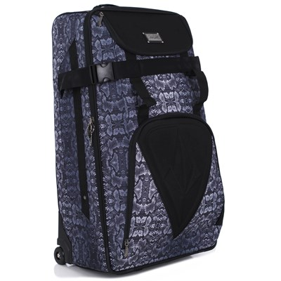 Volcom Snakestone Check In Roller Bag - Women's