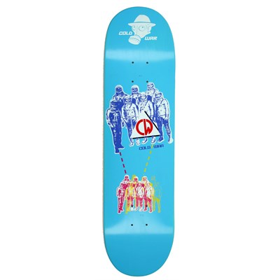 Cold War Space Race Skateboard