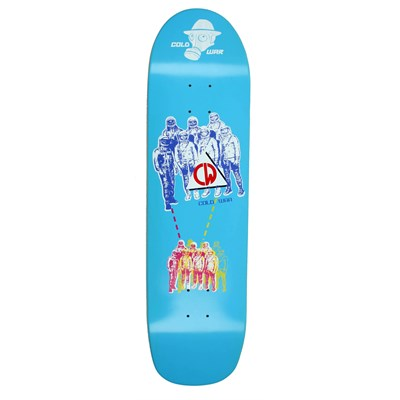 Cold War Space Race Square Tail Skateboard