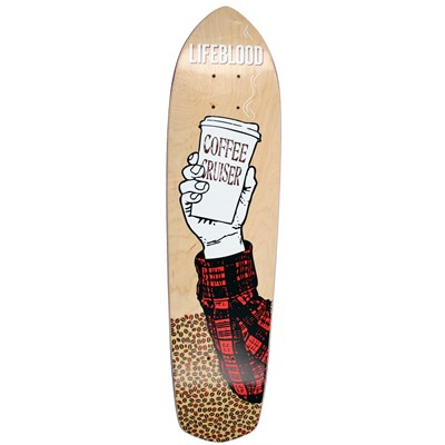 Lifeblood Coffee Cruiser Skateboard Deck
