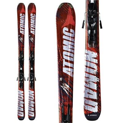 Atomic Crimson Ti Skis + XTO 12 Bindings 2012