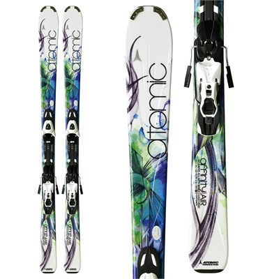 Atomic Affinity Air Skis + XTL 9 Lady Bindings - Women's 2012