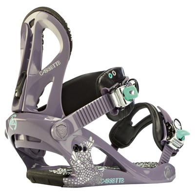 K2 Cassette Snowboard Bindings - Women's 2012