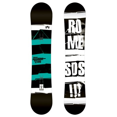 Rome Garage Rocker Wide Snowboard 2012
