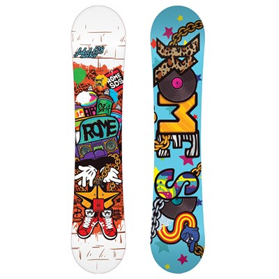 Rome Label Rocker Snowboard - Youth 2012