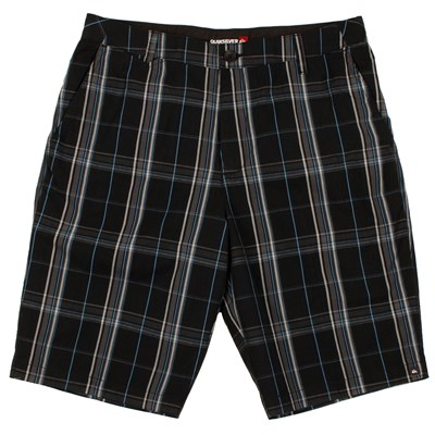 Quiksilver Plaid Police Shorts