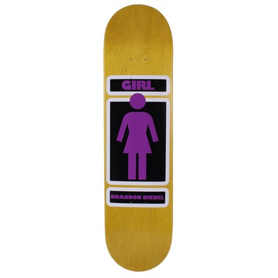 Girl Brandon Biebel Woody Skateboard Deck