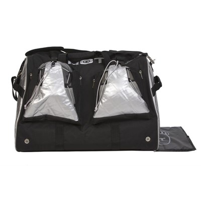 Hot Gear Double Ski Boot Bag