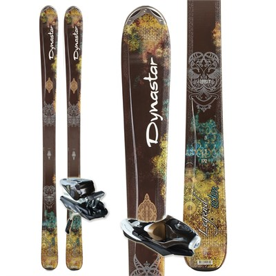 Dynastar Legend Eden Fluid Skis + NX 11 Fluid Bindings - Women's 2012