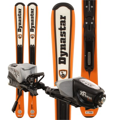 Dynastar Team Legend Skis + Xpress Kid Bindings - Youth 2012
