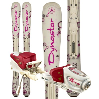 Dynastar Starlett Skis + Xpress Kid Bindings - Youth 2012