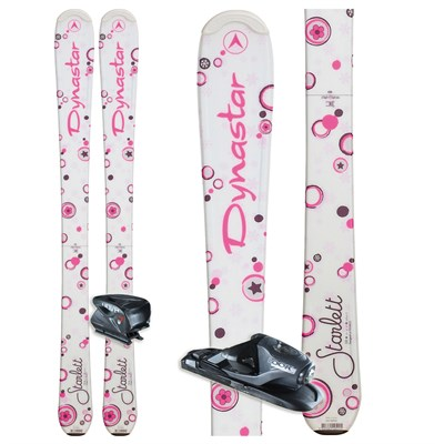 Dynastar Starlett Skis + Nova 7 Bindings - Youth 2012