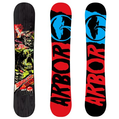 Arbor Draft (Black) Snowboard 2012