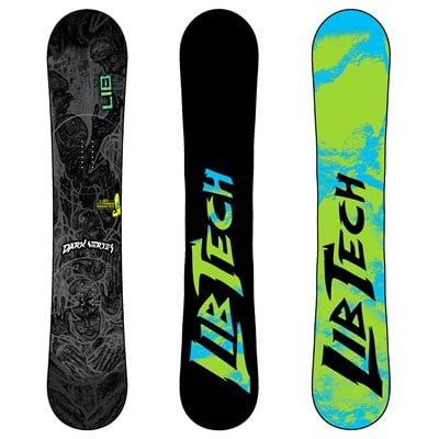 Lib Tech Dark Series C2BTX Wide Snowboard 2012