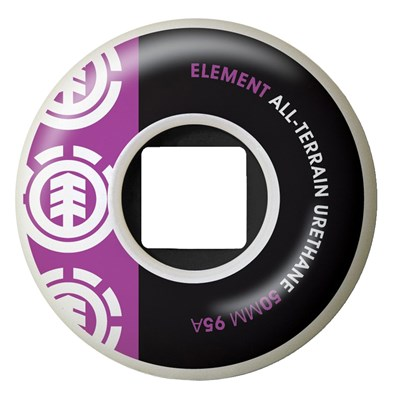 Element Section Purple Skateboard Wheels