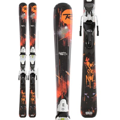 Rossignol Scimitar Jr Skis + Axium Jr 70 Bindings - Youth 2012