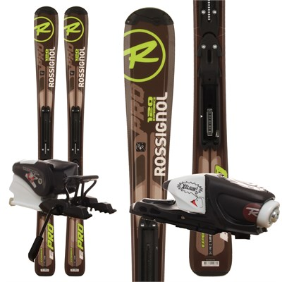 Rossignol Experience Pro Skis + Xelium Kid 45 Bindings - Youth 2012