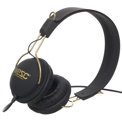 Wesc Tambourine Golden Headphones