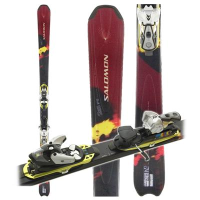 Salomon Siam 10 Pilot Skis + Salomon S810 Ti Bindings - Women's 2006
