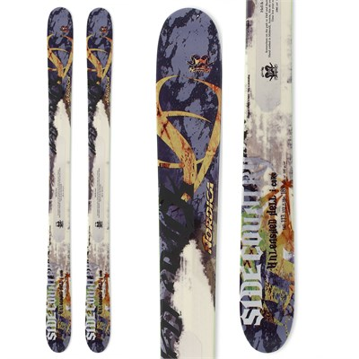 Nordica Unleash Hell I-Core Skis 2012