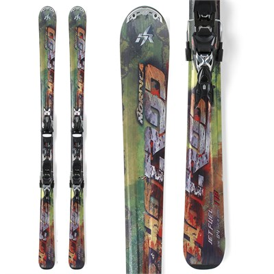 Nordica Hot Rod Jet Fuel I-Core Skis + XBI CT Bindings 2012