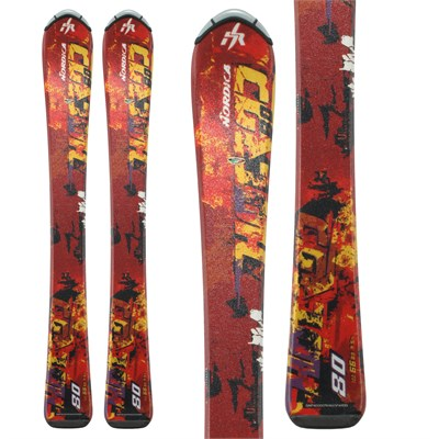 Nordica Hot Rod Jr Skis - Youth 2012