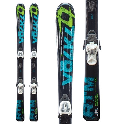 Volkl RTM Jr Skis + 3Motion 7.0 Bindings - Youth 2012