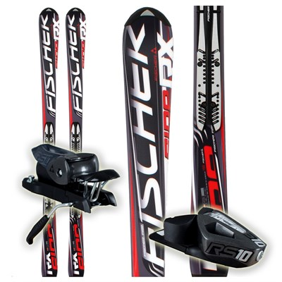 Fischer RX Fire FP9 Skis + RS 10 Bindings 2012