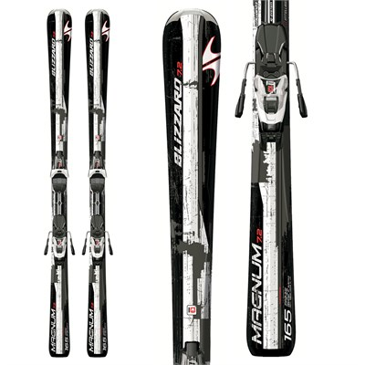 Blizzard Magnum 7.2 IQ Skis + IQ LT 10 Bindings 2012