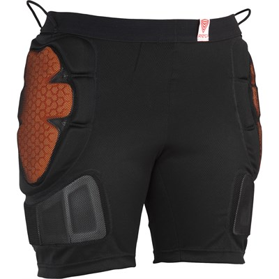 Red Total Impact Shorts - Women's