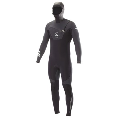 Quiksilver 5/4/3 LS Hooded Chest Zip Wetsuit