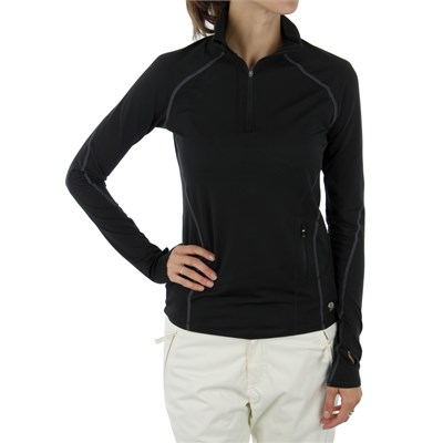 Mountain Hardwear Butter Zippity Zip Neck Top - Women's