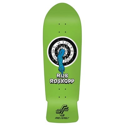 Santa Cruz Rob Target 1 Green Reissue Skateboard Deck