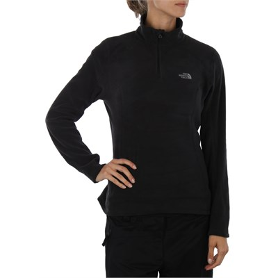 The North Face TKA 100 Microvelour Glacier 1/4 Zip Top - Women's