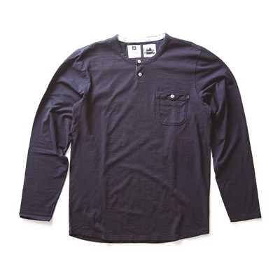 Analog Hastings Long Sleeve Henley Shirt