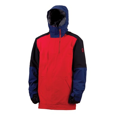 Bonfire Blur Long Fit Jacket