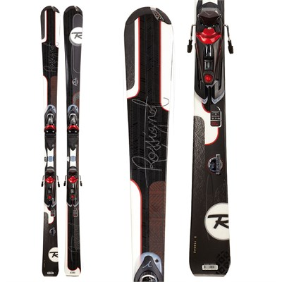 Rossignol Attraxion 3S Skis + WTPI²/Saphir 110 Bindings - Women's  2012