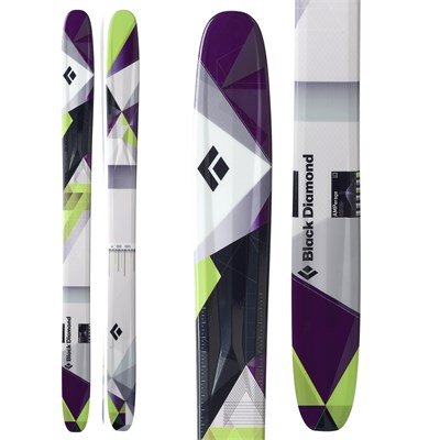 Black Diamond AMPerage Skis 2012