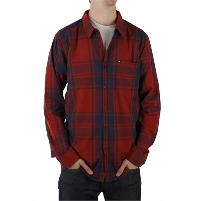 Quiksilver Jai Long Sleeve Button Down Shirt