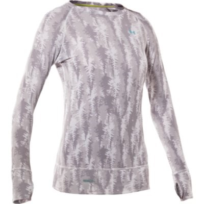Under Armour Base 2.0 Printed Crew Top - Women's