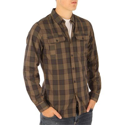 RVCA Bleeker Noodle Button Down Shirt