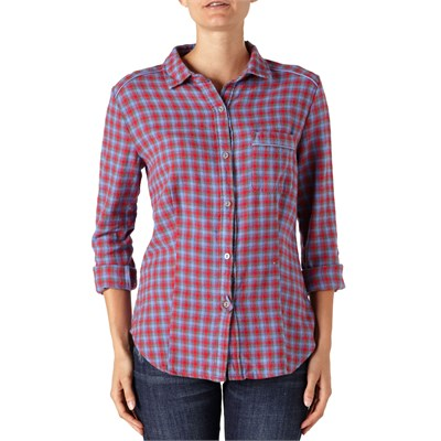 Quiksilver Capitan Flannel Button Down Shirt - Women's
