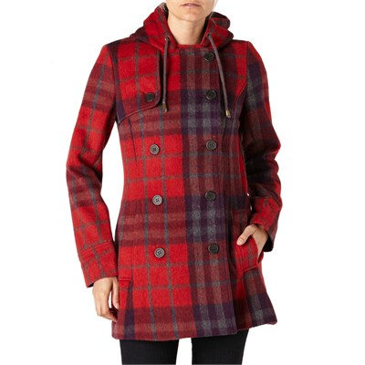 Quiksilver Cascade Plaid Jacket - Women's