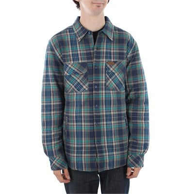 Elwood Harvey Quilted Flannel Button Down Shirt