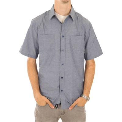 Fourstar Hogan Short Sleeve Button Down Shirt