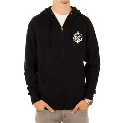 Fourstar Pirate Anchor Zip Hoodie