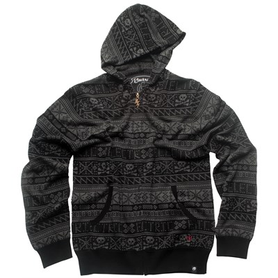 Electric Doom Zip Hoodie